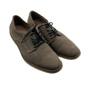 Banana Republic Leather Owen Suede Shoes Gray